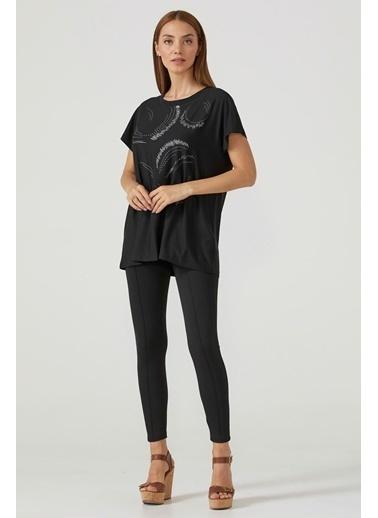 Sementa Baskı Desenli Kadın Bluz  Fuşya